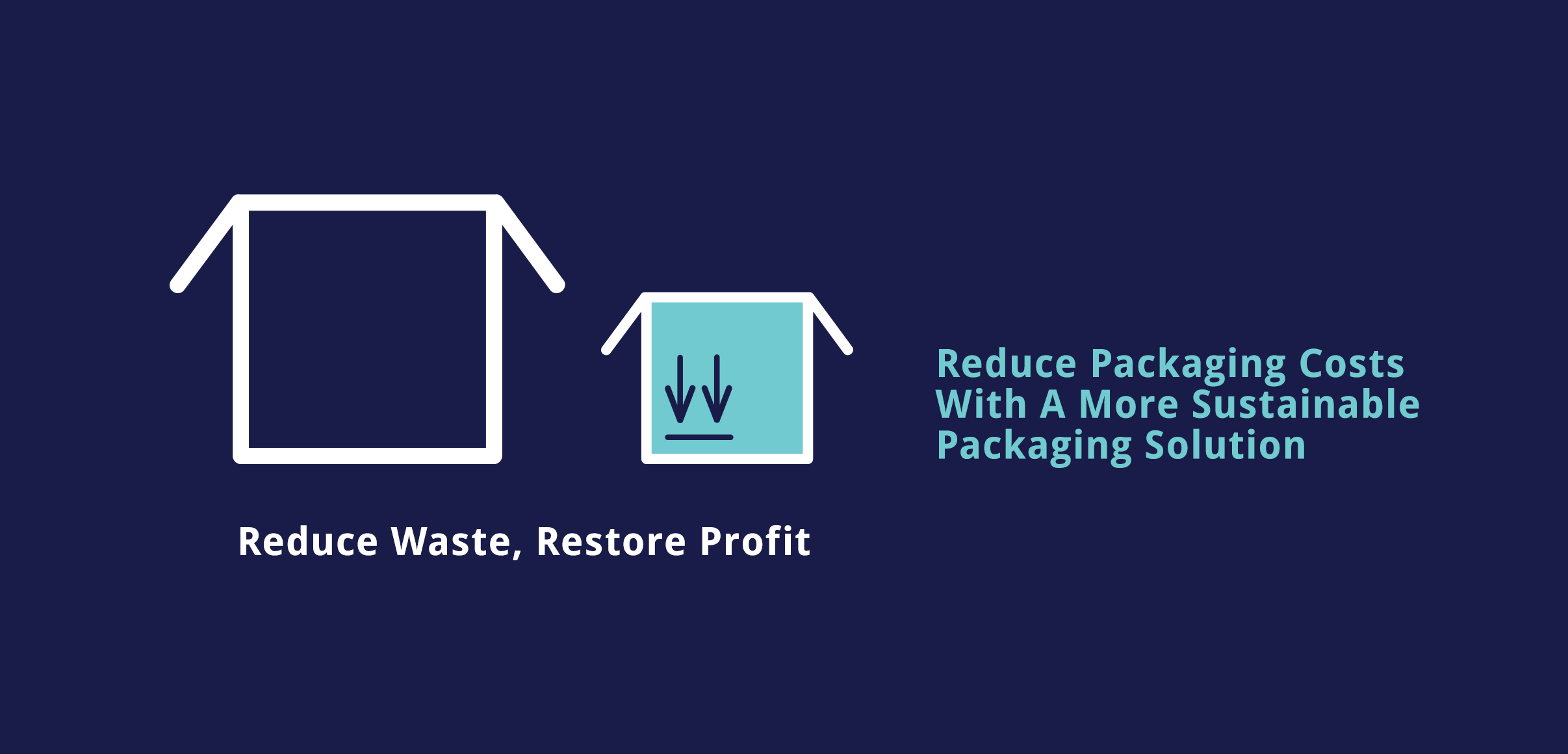 Ribble Automate, Reduce Packaging Waste
