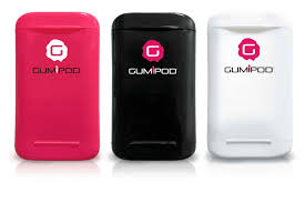 Gumipod chewing gum boxes