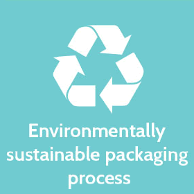 Environmentally sustainable packaging process