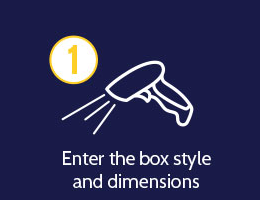 Enter the box style and dimensions